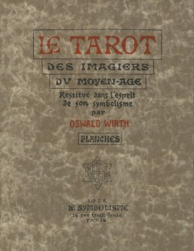 13264 Tarot Oswald Wirth Planches 15 Umschlagmappe