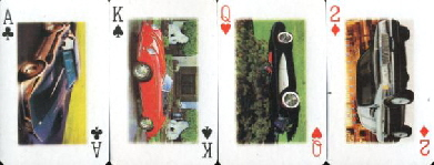 11447 Car Playing Cards