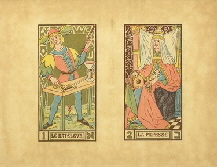 13264 Tarot Oswald Wirth Planches 01